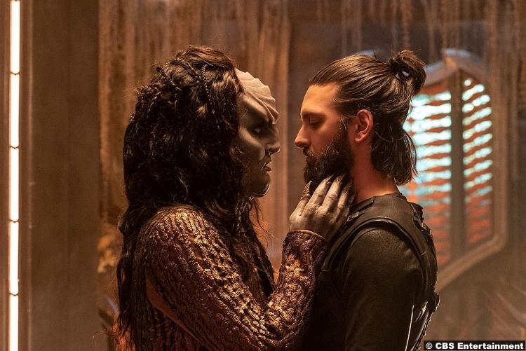 Star Trek Discovery S02e03 Shazad Latif Ash Tyler Voq Mary Chieffo Lrell