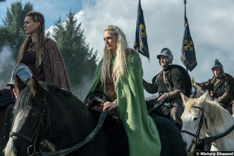 Vikings S05e16 Georgia Hirst Ragga Ragnars Gunnhild Torvi