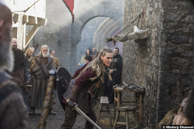 Vikings S05e16 Ragga Ragnars Gunnhild