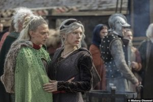 Vikings S05e19 Georgia Hirst Torvi Katheryn Winnick Lagertha