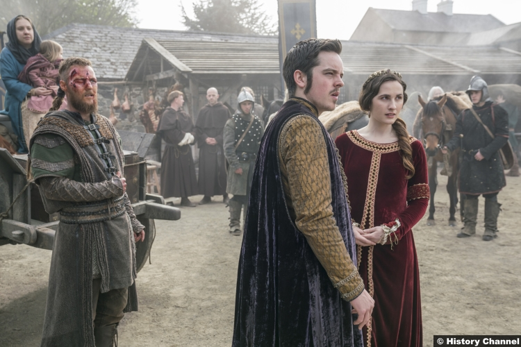 Vikings S05e20 Ferdia Walsh Peelo King Alfred Roisin Murphy Elsewith Jordan Patrick Smith Ubbe