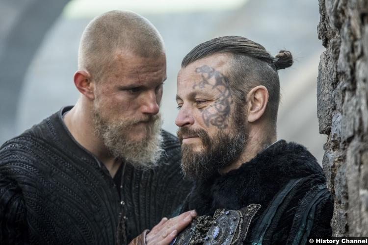 Vikings S5e17 Peter Franzen King Harald Alexander Ludwig Bjorn