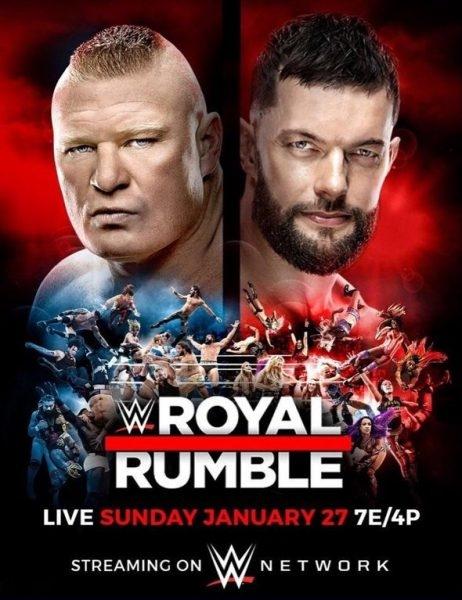 Wwe Royal Rumble 2019 Poster