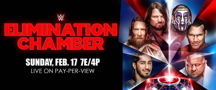Enter your WWE Elimination Chamber predictions here