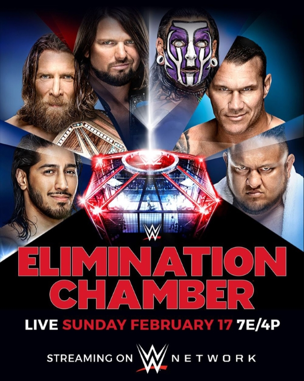 Elimination Chamber 2019 Poster 3