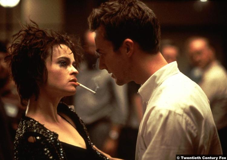 Fight Club Edward Norton Helena Bonham Carter