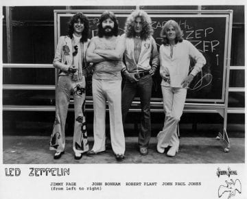 Led Zeppelin 1977 Promo
