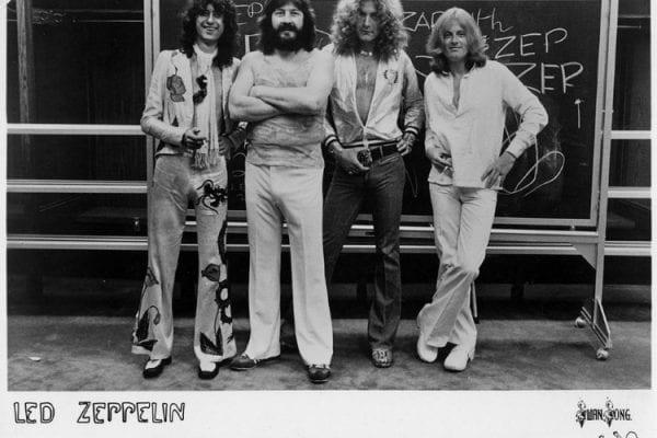 Led Zeppelin 1977 Promo