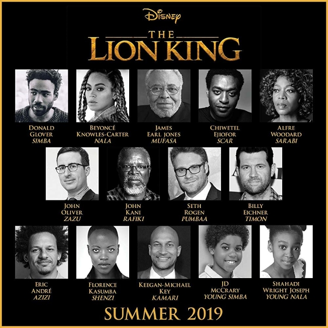 Lion King Movie Cast