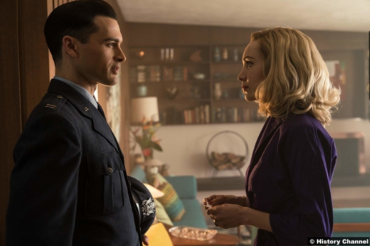 Project Blue Book S01e05 Michael Malarkey Captain Michael Quinn Ksenia Solo Susie Miller
