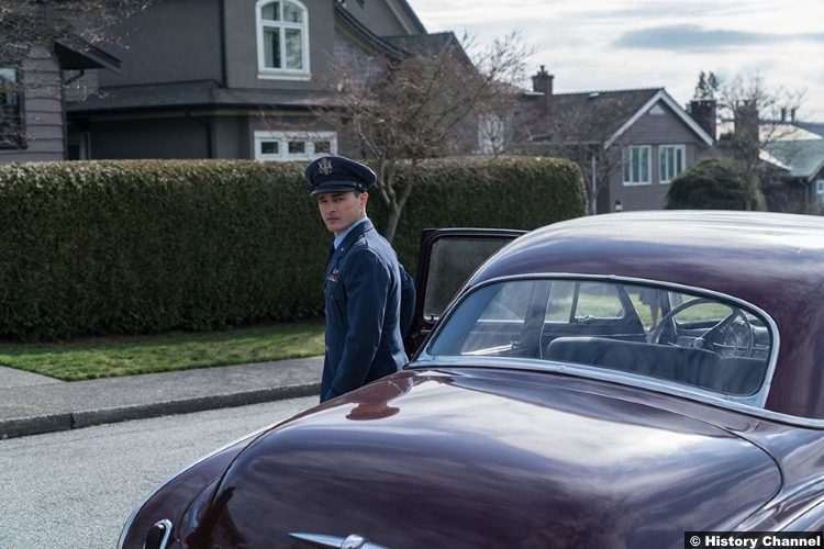 Project Blue Book S01e05 Michael Malarkey Captain Michael Quinn