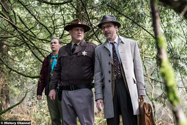 Project Blue Book S01e07 Aiden Gillen Dr Allen Hynek