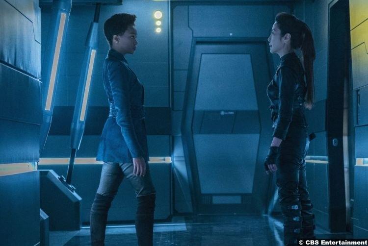 Star Trek Discovery S02e07 Michelle Yeoh Sonequa Martin Green Michael Burnham Captain Philippa Georgiou