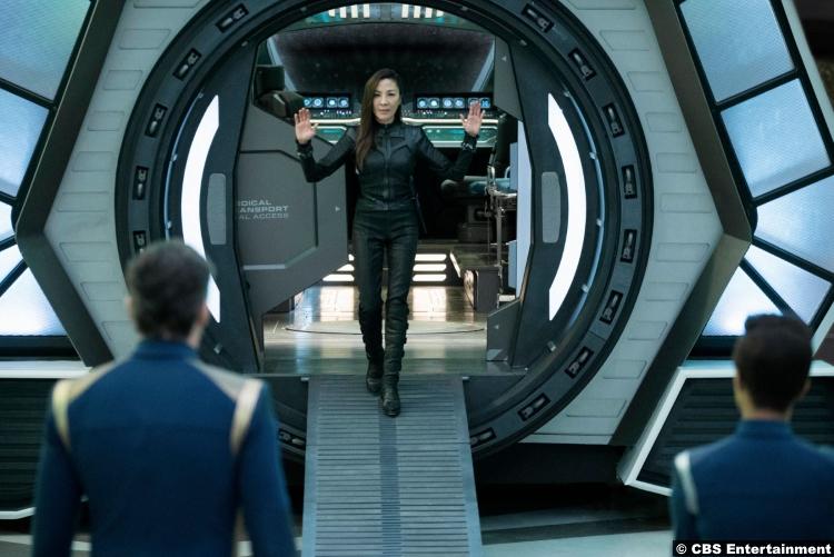 Star Trek S02e05 Michelle Yeoh Philippa Georgiou