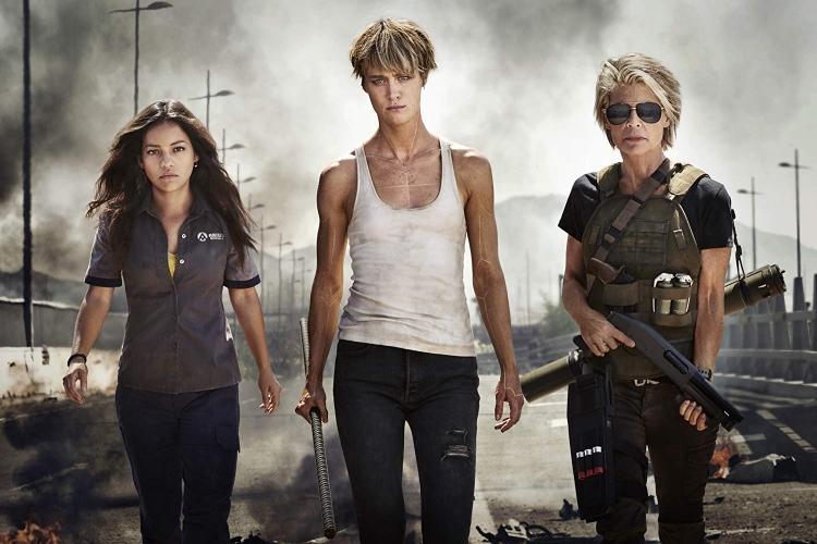 Terminator 6 Linda Hamilton Natalia Reyes Mackenzie Davis