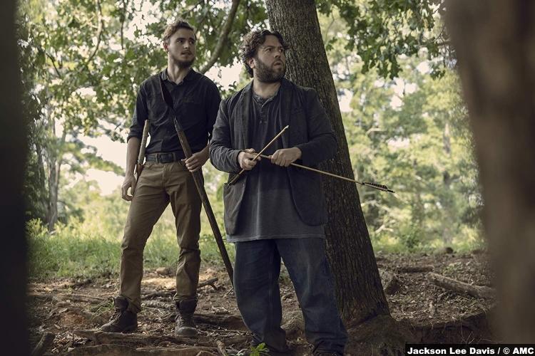 Walking Dead S09e09 Callan Mcauliffe Alden Dan Fogler Luke