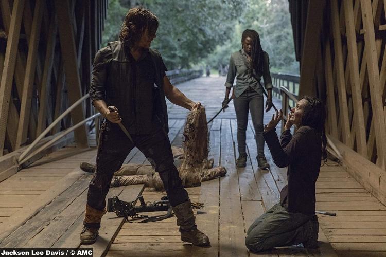 Walking Dead S09e09 Daryl Dixon Norman Reedus Michonne Danai Gurira Cassady Mcclincy Lydia 2
