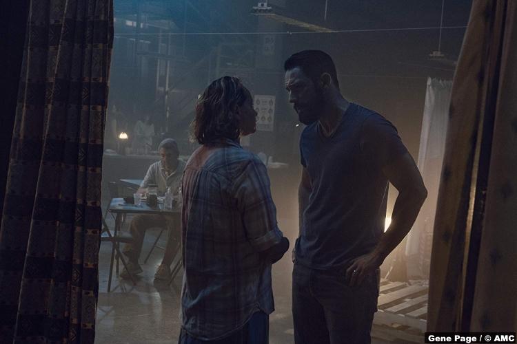 Walking Dead S09e10 Samantha Morton Alpha Steve Kazee Frank
