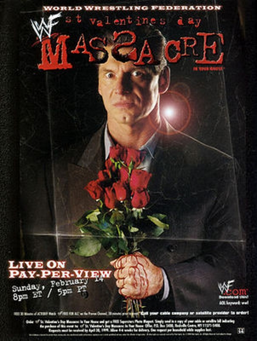 Wwf Wwe St Valentines Day Massacre 1999