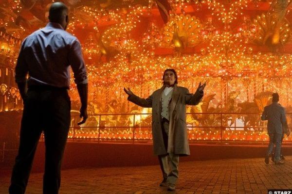American Gods S02e01 Ian Mcshane Ricky Whittle