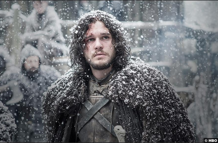 Game Thrones S05e10 Kit Harington Jon Snow
