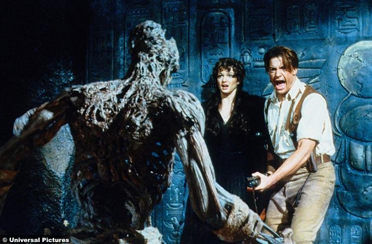 Mummy 1999 Brendan Fraser Rachel Weisz