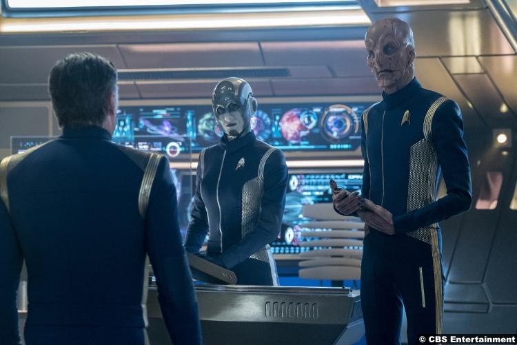 Star Trek Discovery S02e08 Hannah Cheesman Airiam 2 5 Doug Jones Saru