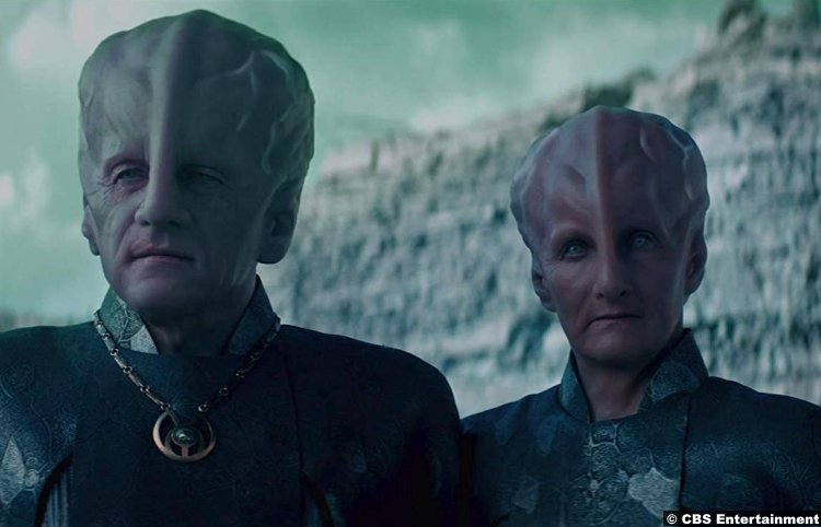Star Trek Discovery S02e08 Rob Brownstein Dee Pelletier Keeper Talosian