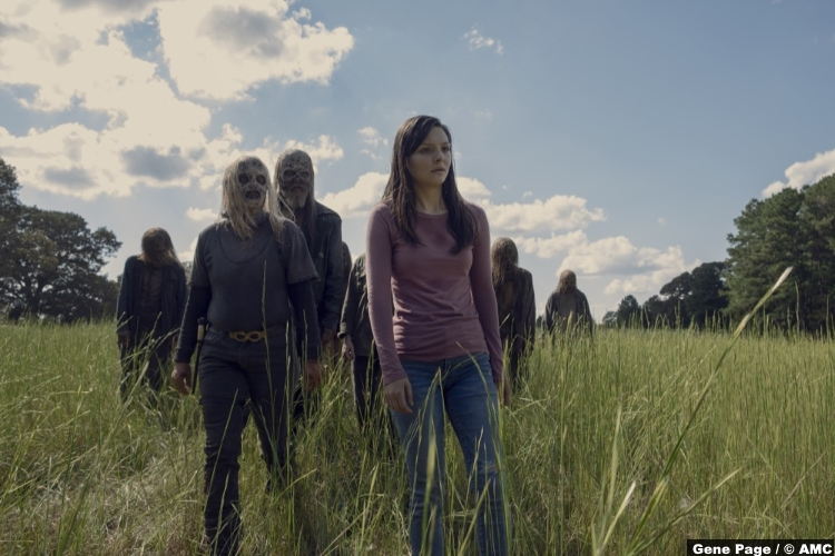 Walking Dead S09e12 Cassady Mcclincy Lydia Samantha Morton Alpha