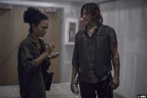 Walking Dead S09e13 Lauren Ridloff Connie Norman Reedus Daryl Dixon 2