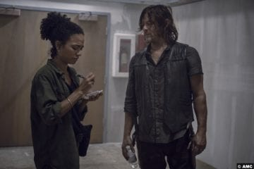 Walking Dead S09e13 Lauren Ridloff Connie Norman Reedus Daryl Dixon 2