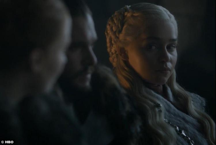 Game Of Thrones S08e01 Emilia Clarke Daenerys Targaryen