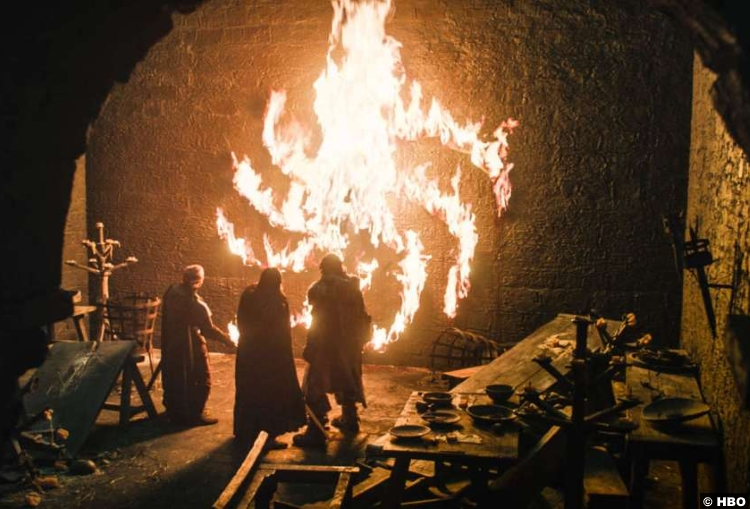 Game Of Thrones S08e01 Winterfell Table Setting