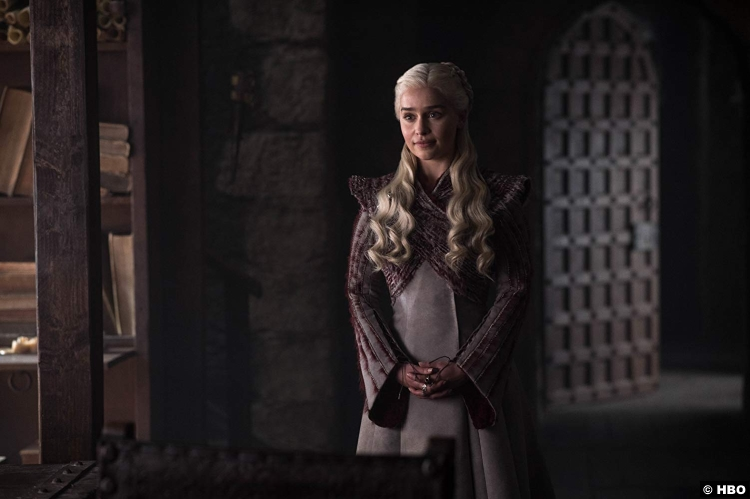 Game Of Thrones S08e02 Emilia Clarke Daenerys Targaryen