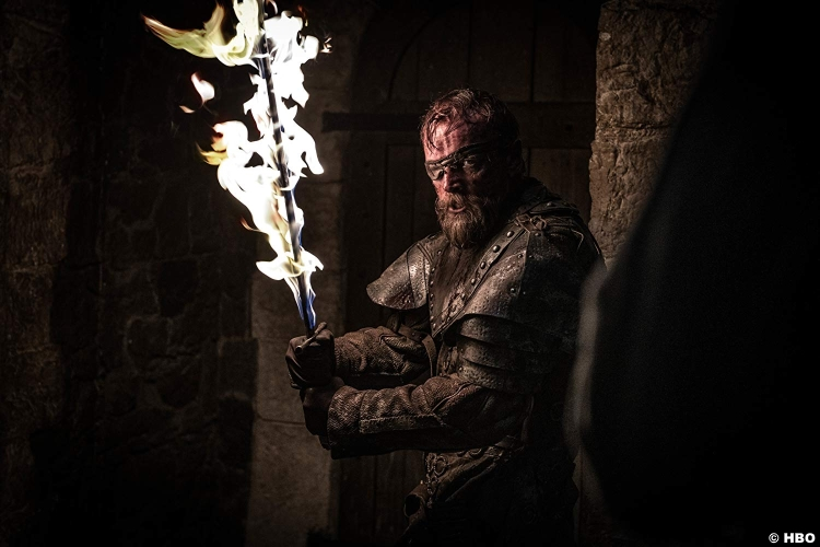 Game Of Thrones S08e03 Richard Dormer Beric Dondarrion