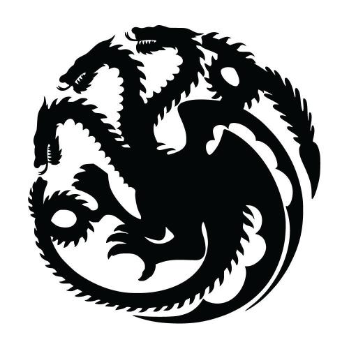 Game Of Thrones Targaryen Sigel