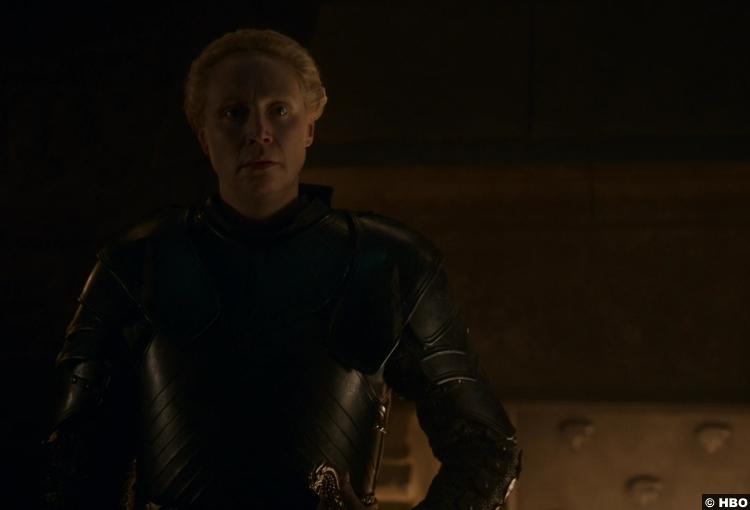 Game Thrones S08e02 Gwendoline Christie Brienne Tarth