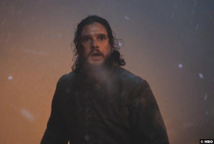 Game Thrones S08e03 Kit Harington Jon Snow