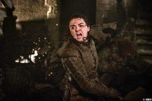 Game Thrones S08e03 Maisie Williams Arya Stark