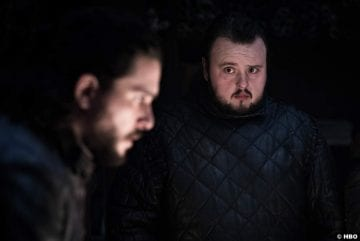 Game Thrones S08e2 John Bradley Samwell Tarly