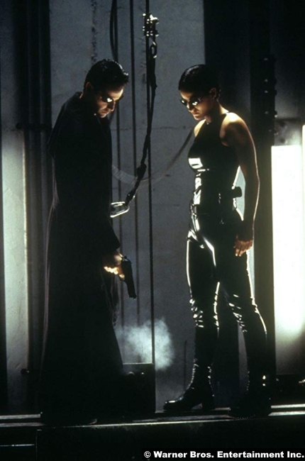 Matrix Keanu Reeves Carrie Anne Moss Neo Trinity 3