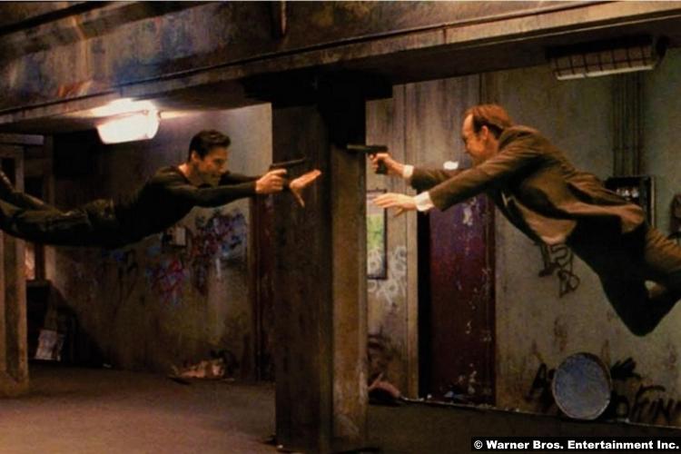 Matrix Keanu Reeves Hugo Weaving Neo Agent Smith