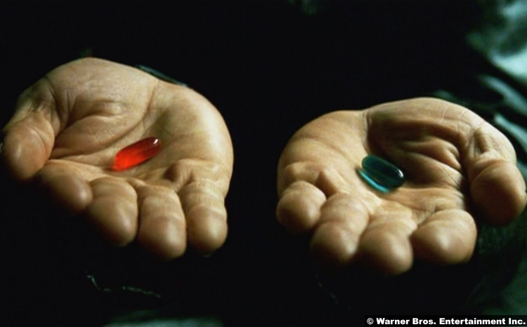 Matrix Which Pill