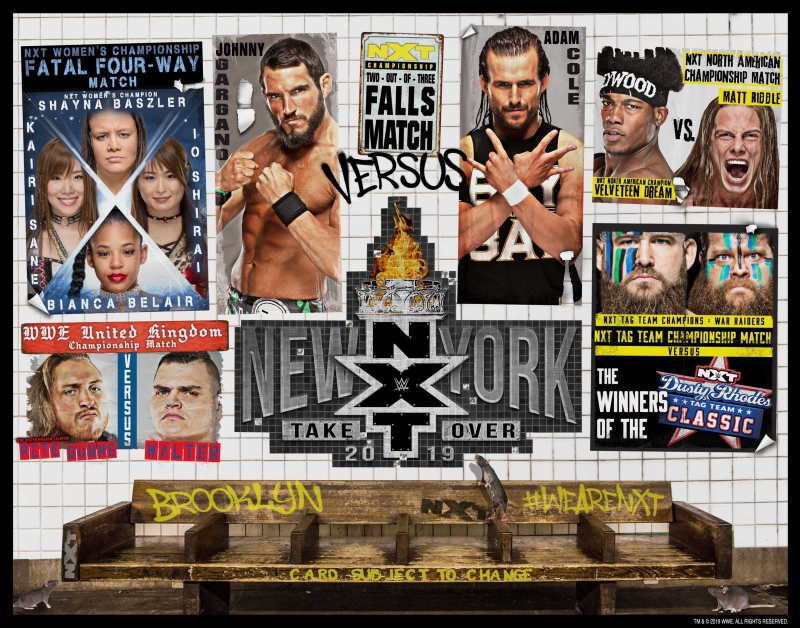 Nxt Takeover New York 2019 Poster