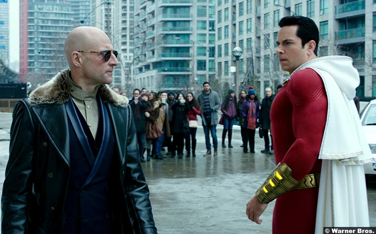 Shazam Mark Strong Zachary Levi