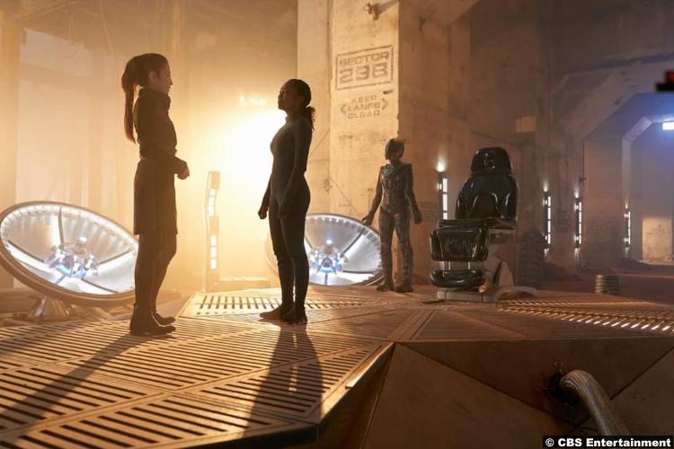 Star Trek Discovery S02e11 Michelle Yeoh Philippa Georgiou Sonja Sohn Dr Gabrielle Burnham