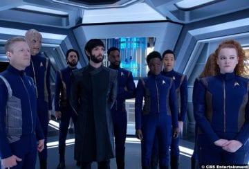 Star Trek Discovery S02e13 Crew