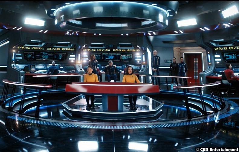 Star Trek Discovery S02e13 Enterprise Bridge