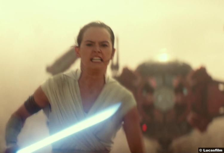 Star Wars Rise Skywalker Trailer Daisy Ridley Rey 4