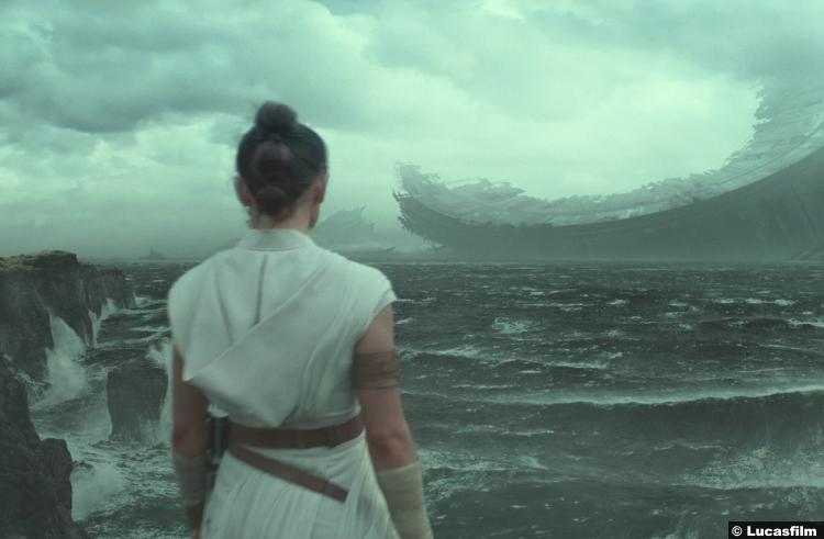 Star Wars Rise Skywalker Trailer Daisy Ridley Rey Deathstar 21